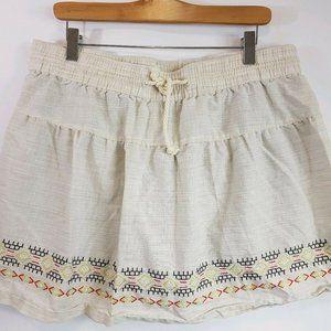 Woolrich Outside Air Eco Skirt Linen Shorts/Skorts